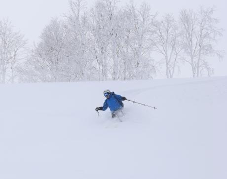 2017年1月21日朝里岳を滑る -1_c0242406_09001933.jpg
