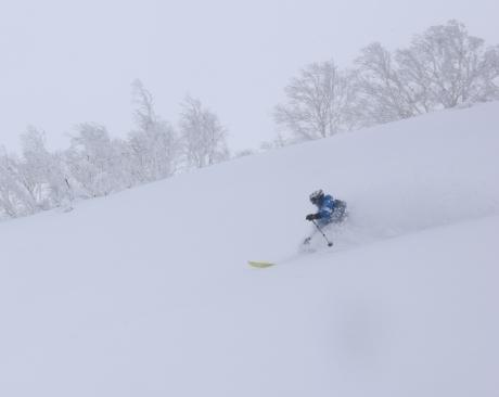 2017年1月21日朝里岳を滑る -1_c0242406_09023376.jpg