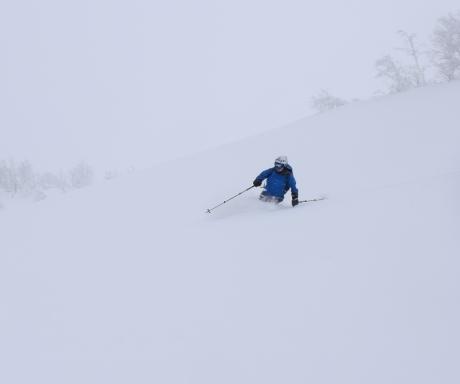 2017年1月21日朝里岳を滑る -1_c0242406_09040932.jpg