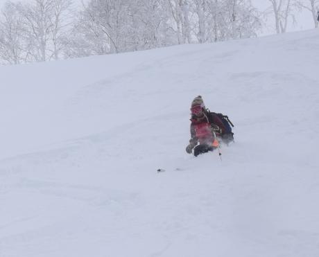 2017年1月21日朝里岳を滑る -1_c0242406_09055038.jpg