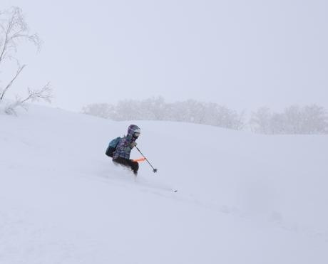 2017年1月21日朝里岳を滑る -1_c0242406_09062227.jpg