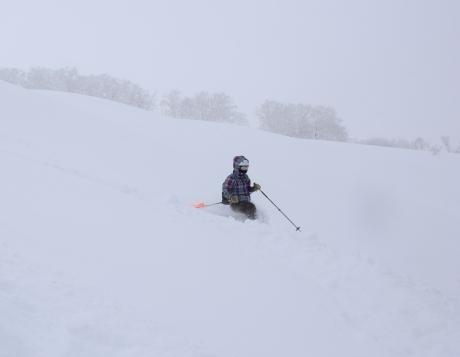 2017年1月21日朝里岳を滑る -1_c0242406_09064878.jpg