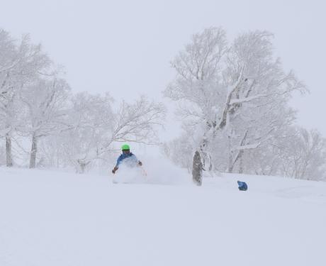 2017年1月21日朝里岳を滑る -1_c0242406_09071539.jpg