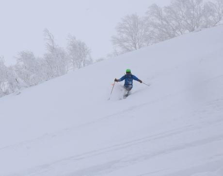 2017年1月21日朝里岳を滑る -1_c0242406_09074529.jpg