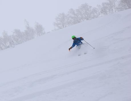2017年1月21日朝里岳を滑る -1_c0242406_09080995.jpg
