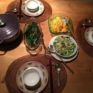 エビチリフライデーとお気に入りの紫色のお野菜_f0238789_20531202.jpg