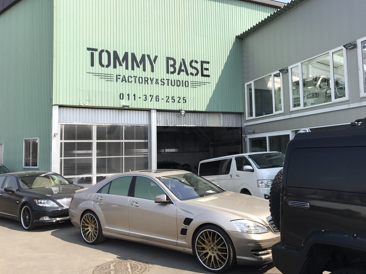4月5日(水)TOMMY BASE ともみブログ☆パナメーラ レクサス ランクル_b0127002_17093176.jpg