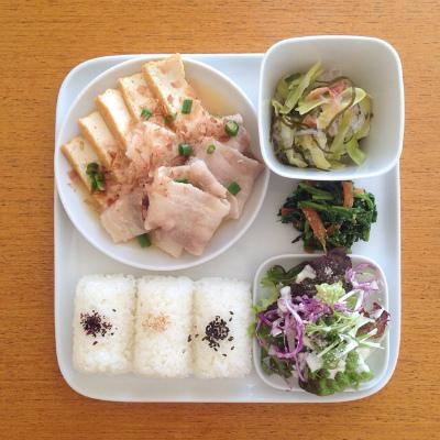 豚肉と厚揚げの味噌煮_b0102217_17423806.jpg