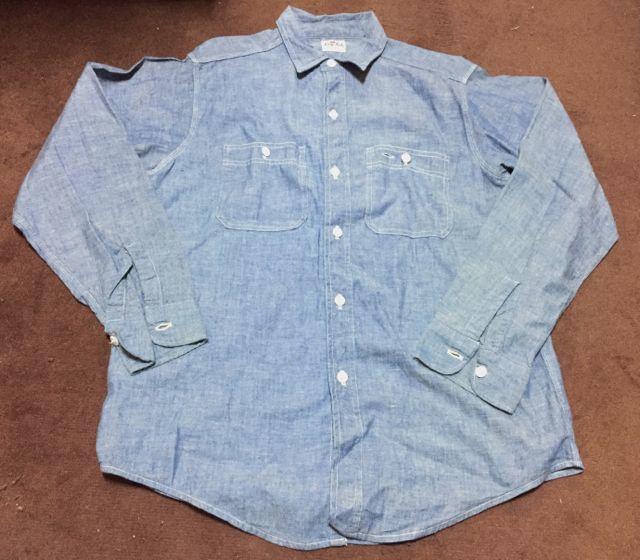 アメリカ仕入れ情報#2 60s KING KOLE シャンブレーシャツ&ワークシャツ!_c0144020_11331741.jpg