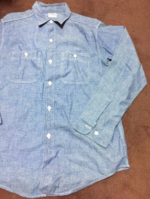アメリカ仕入れ情報#2 60s KING KOLE シャンブレーシャツ&ワークシャツ!_c0144020_11333173.jpg