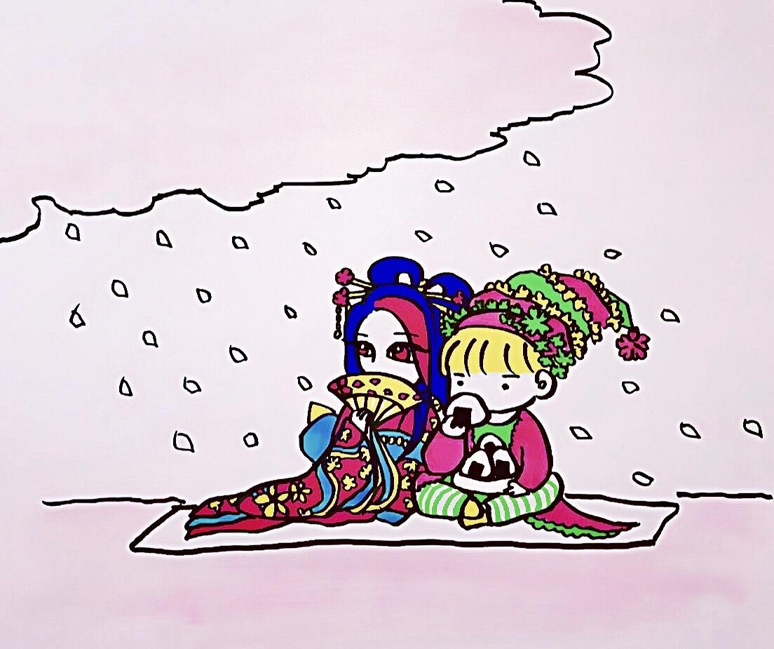 【キナさんぽ】春爛漫。_f0115311_23293378.jpg