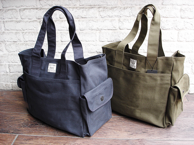 "NEW : Nigel Cabourn [TOTE BAG] ""HALFTEX"" 2017 SPRING !!_a0132147_17254898.jpg"