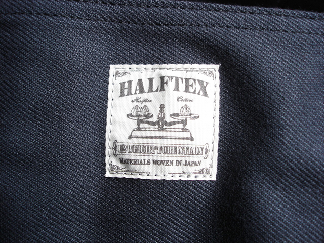 "NEW : Nigel Cabourn [TOTE BAG] ""HALFTEX"" 2017 SPRING !!_a0132147_17271678.jpg"