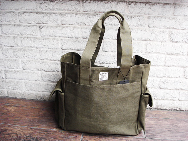 "NEW : Nigel Cabourn [TOTE BAG] ""HALFTEX"" 2017 SPRING !!_a0132147_172782.jpg"