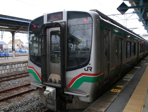 青春18きっぷ 浪江駅まで行く旅 E721系_d0202264_2072450.jpg