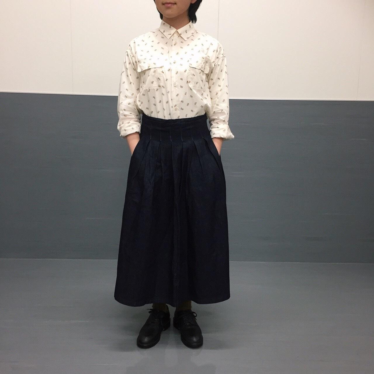 新作小花柄シャツのご紹介_e0272788_15173325.jpg