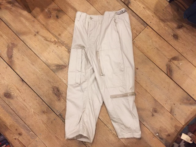 NOTAN AVIATOR TROUSERS_d0121303_18581774.jpg