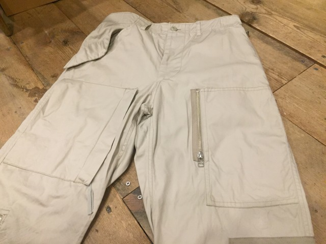 NOTAN AVIATOR TROUSERS_d0121303_18581869.jpg