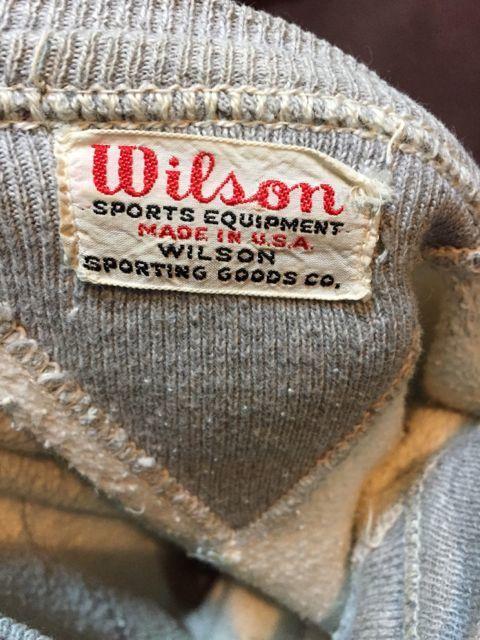 アメリカ仕入れ情報#4 40s~ WILSON 両V フリーダムスリーブスエットシャツ!_c0144020_11192541.jpg