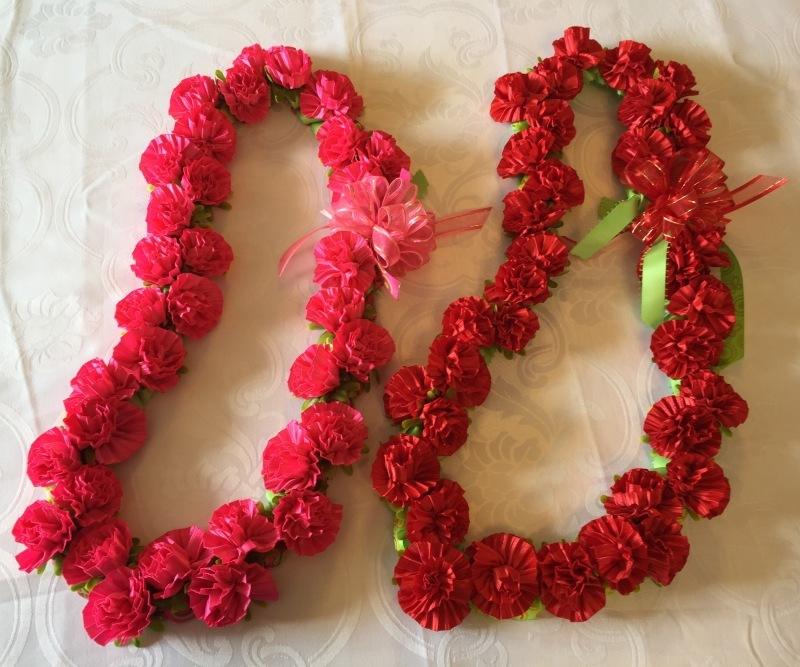 【Carnation Lei カーネーション レイ 】_c0196240_18164505.jpg