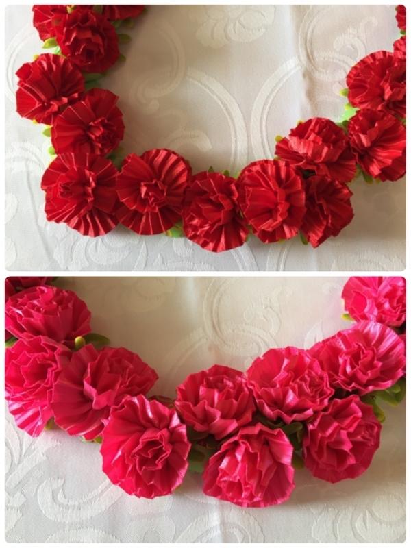 【Carnation Lei カーネーション レイ 】_c0196240_18171862.jpg
