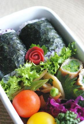 今日の豚肉菜の花巻き弁当とお弁当作りのコツ_d0327373_06544571.jpg