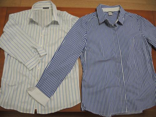 ストライプのシャツを買い替え_f0378589_22445090.jpg