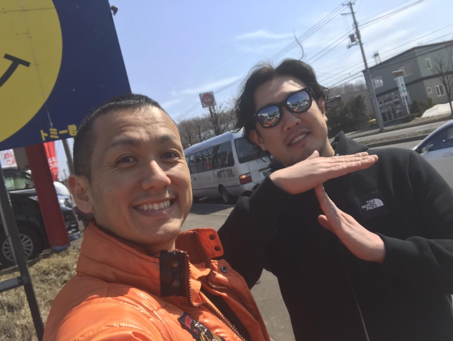 4月7日(金)TOMMY BASE ともみブログ☆カマロ ハマー ランクル_b0127002_13392749.jpg