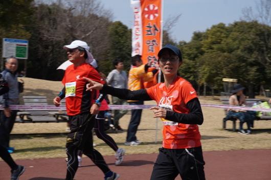 桜はまだ咲いていないけど 桜マラソン_a0201257_15070310.jpg