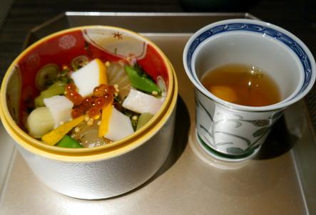 日本料理 有馬 華暦 @母娘旅Ⅱ_b0118001_7441188.jpg