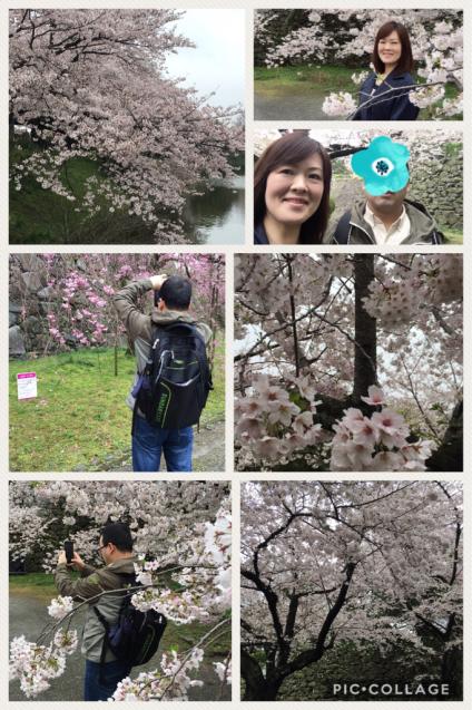 お花見デート♪@舞鶴公園_f0140145_21254591.jpg