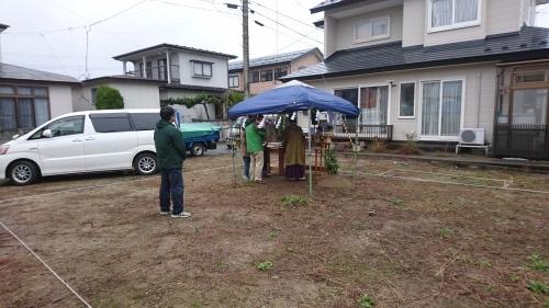 地鎮祭を行いました‼_f0150893_20560779.jpg