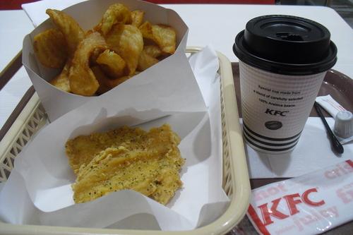 KFC 『カーネリングポテト』_a0326295_1835692.jpg