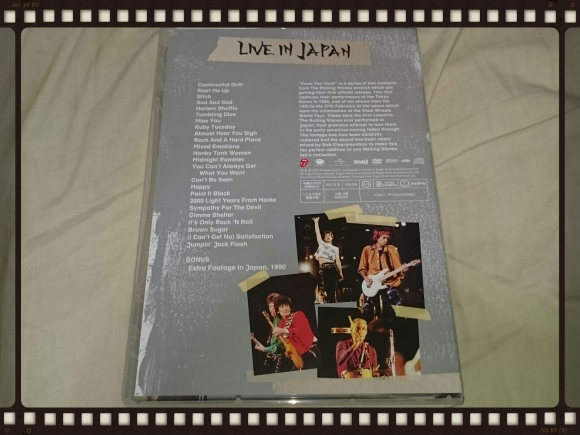 THE ROLLING STONES FROM THE VAULT EXTRA / LIVE IN JAPAN 音源編_b0042308_18001444.jpg