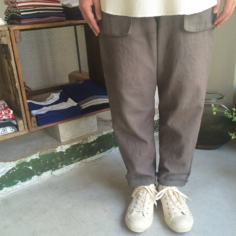 Slow Hands : Linen beach pants_a0234452_2026896.jpg