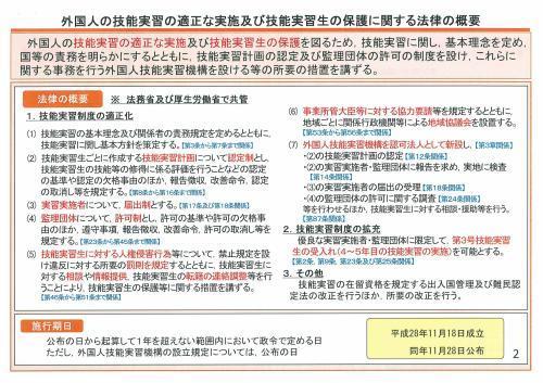 新しい外国人の技能実習生制度概要①_c0191200_08285717.jpg