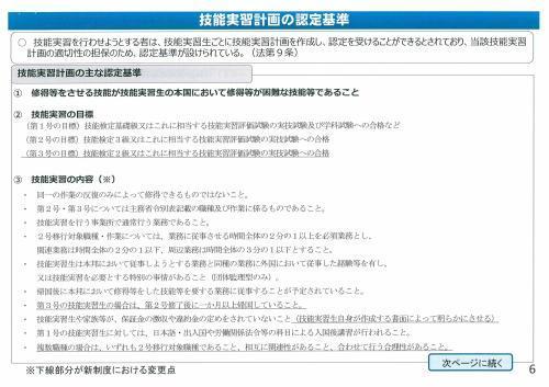 新しい外国人の技能実習生制度概要①_c0191200_08290446.jpg