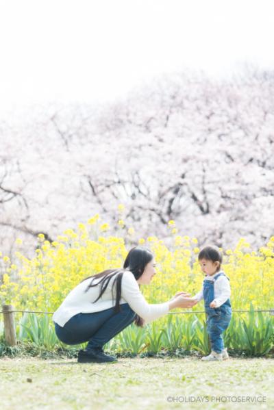 桜のロケーション撮影@代々木公園 東京渋谷 子供写真・家族写真撮影スタジオ Holidays Photo Service_c0351247_16413968.jpg