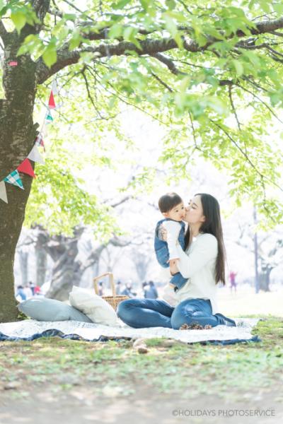 桜のロケーション撮影@代々木公園 東京渋谷 子供写真・家族写真撮影スタジオ Holidays Photo Service_c0351247_16454787.jpg