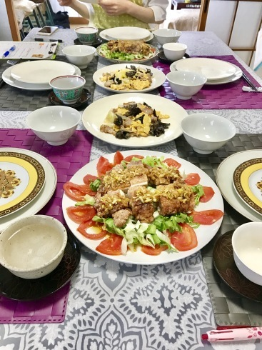 油淋鶏、花巻、春餅レッスン_a0175348_14354362.jpg