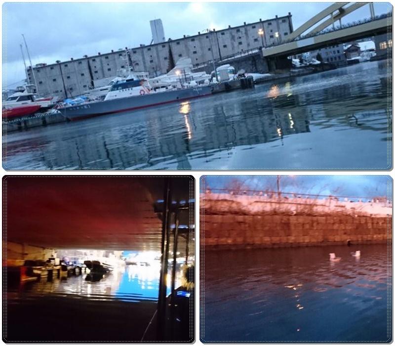 冬の小樽運河クルーズ_b0236665_22285571.jpg