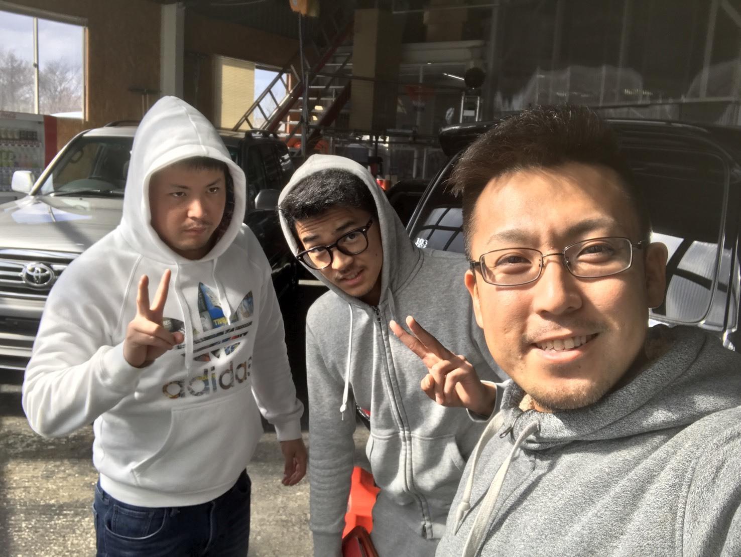 4月12日(水)TOMMY BASE ともみブログ☆ランクル レクサス ハマー_b0127002_22504126.jpg