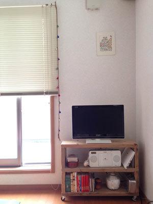 【mt CASA FLEECE】実際に壁に貼ってみました。_d0237564_13403646.jpg