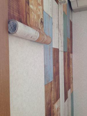【mt CASA FLEECE】実際に壁に貼ってみました。_d0237564_13500379.jpg