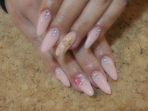 Pink Nail_a0239065_17172508.jpg