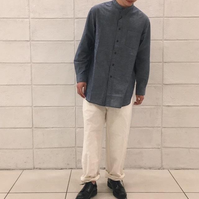 KATO\'ノーカラーシャツ_e0272788_11104214.jpg