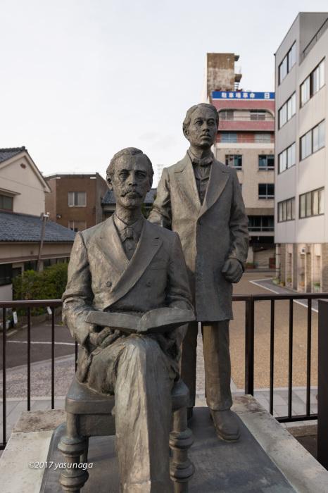 日曜日、市内を散歩。グリフィスと福井城_d0192712_19160164.jpg
