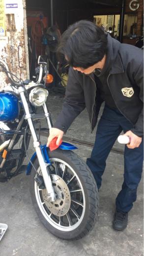 バイク磨いてますか〜?_a0110720_12593692.jpg