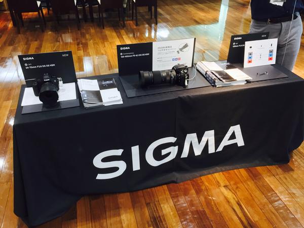 SIGMA 新製品体験イベント 2017 spring(in黒川)にオリジナルアクセサリーを出展しました!_b0213320_2345380.jpg