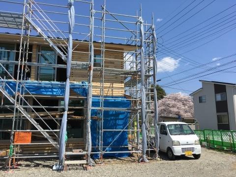 ご近所の桜@甲府荒川の家_c0131878_17375086.jpg